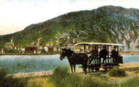 Horse tram at Barmouth Ferry